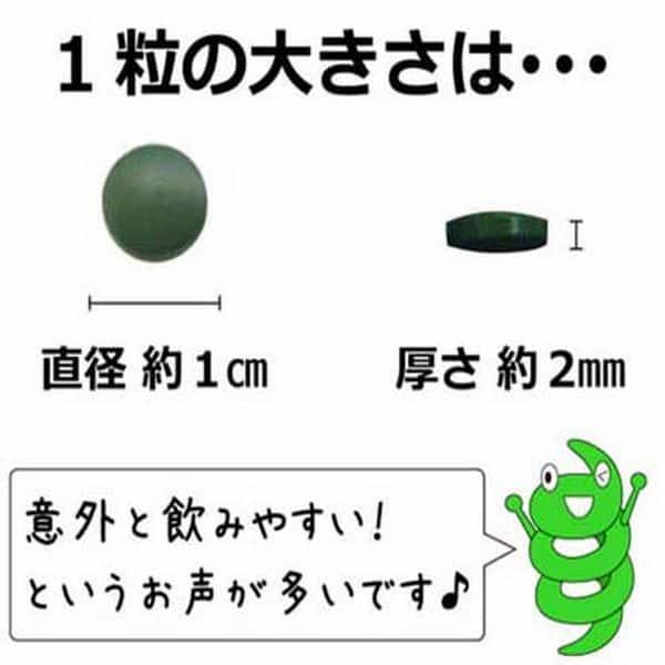 Viên tảo nhỏ, dễ dùng