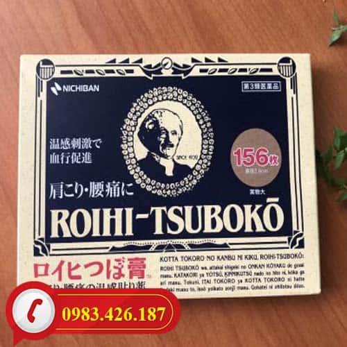 Miếng dán huyệt đạo Roihi Tsuboko giảm đau Nhật Bản