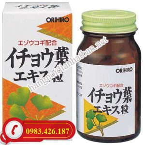 Viên uống Ginkgo Biloba Nhật Bản