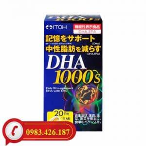 Bổ não DHA 1000mg ITOH Nhật Bản