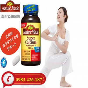 Viên Uống Nature Made Super Calcicum With Vitamin D
