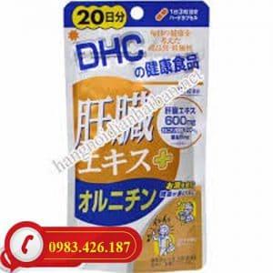 Viên uống giải độc gan DHC 20 ngày