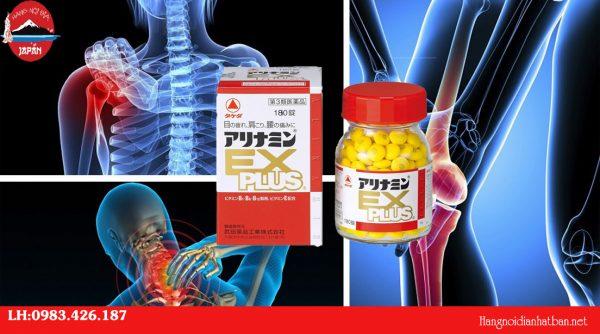 Thuốc bổ xương khớp Arinamin EX Plus 180 viên có công dụng cao trong việc giảm đau và ngăn ngừa tái phát